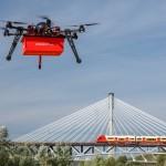 Pierwsi w Polsce dostarczamy posiłek dronem. Zlecenie dla Pizzaportal.pl