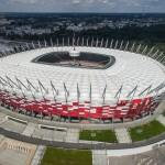 Zdjęcia z drona Stadionu PGE Narodowy.
