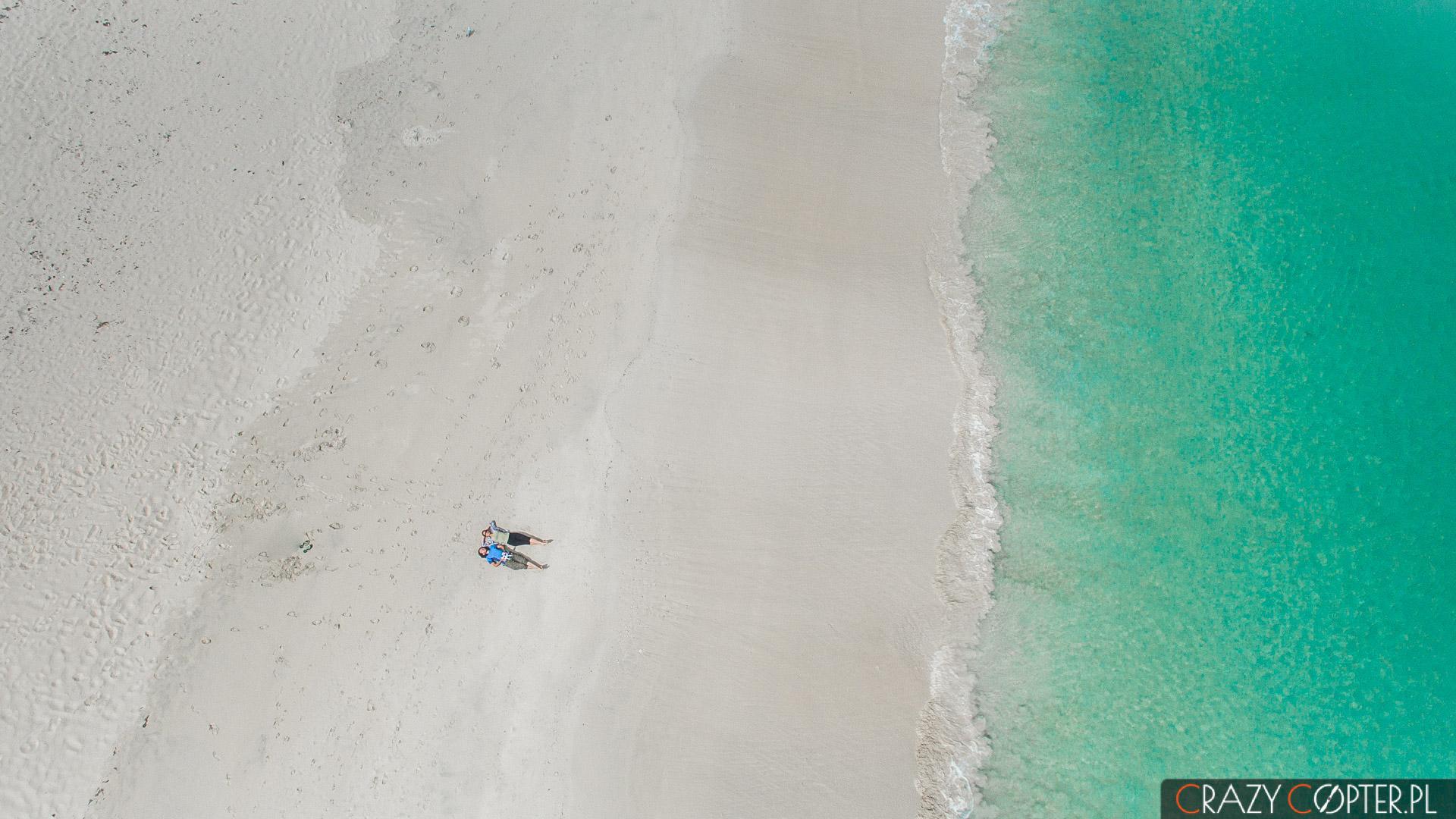 Zdjęcia z drona, Hamelin Bay, Australia Zachodnia