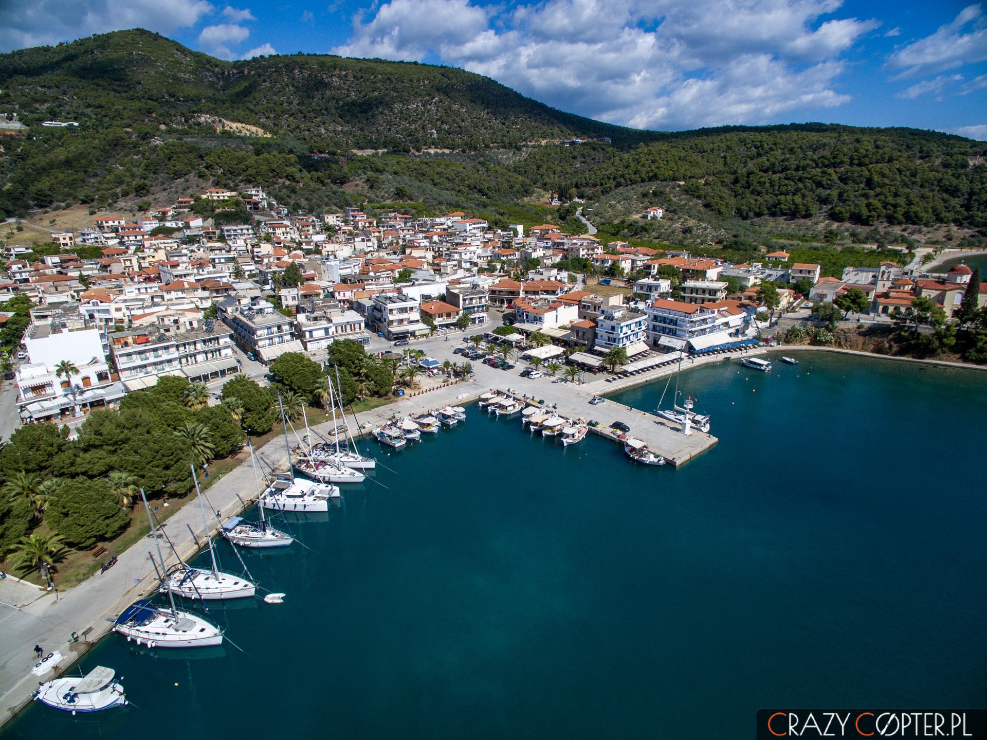 Port wEpidauros - zdjęcie zdrona.