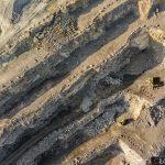 Zdjęcia lotnicze dla odkrywkowej kopalni porfiru pod Krakowem.