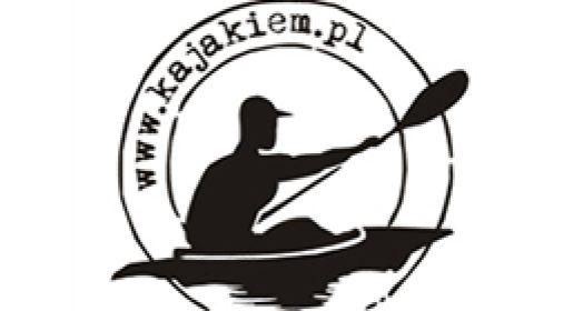 Zdjęcia i ujęcia wideo kajakarzy płynących Nidą dla firmy Kajakiem.pl