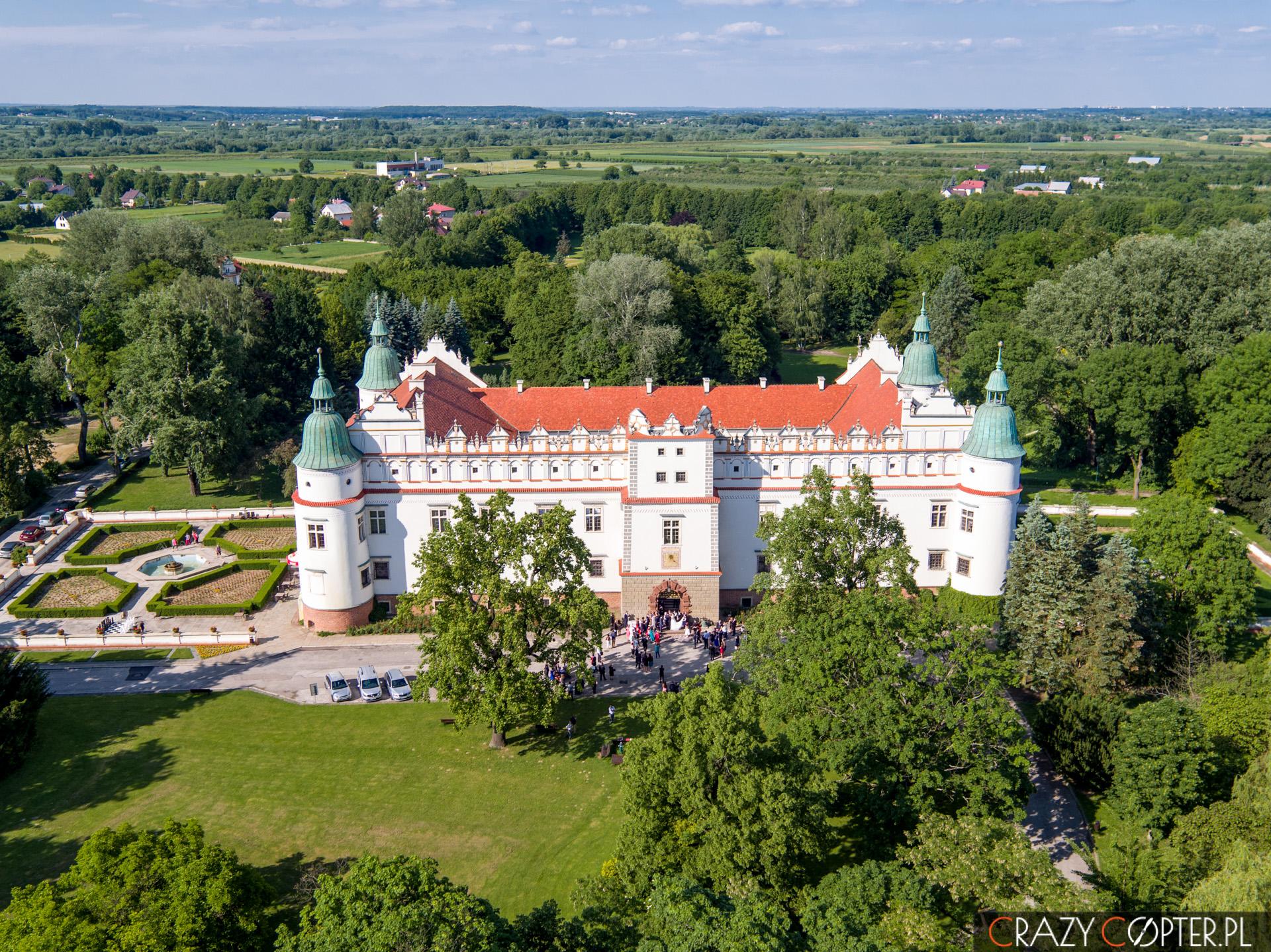Ślub nazamku wBaranowie Sandomierskim - zdjęcie zdrona