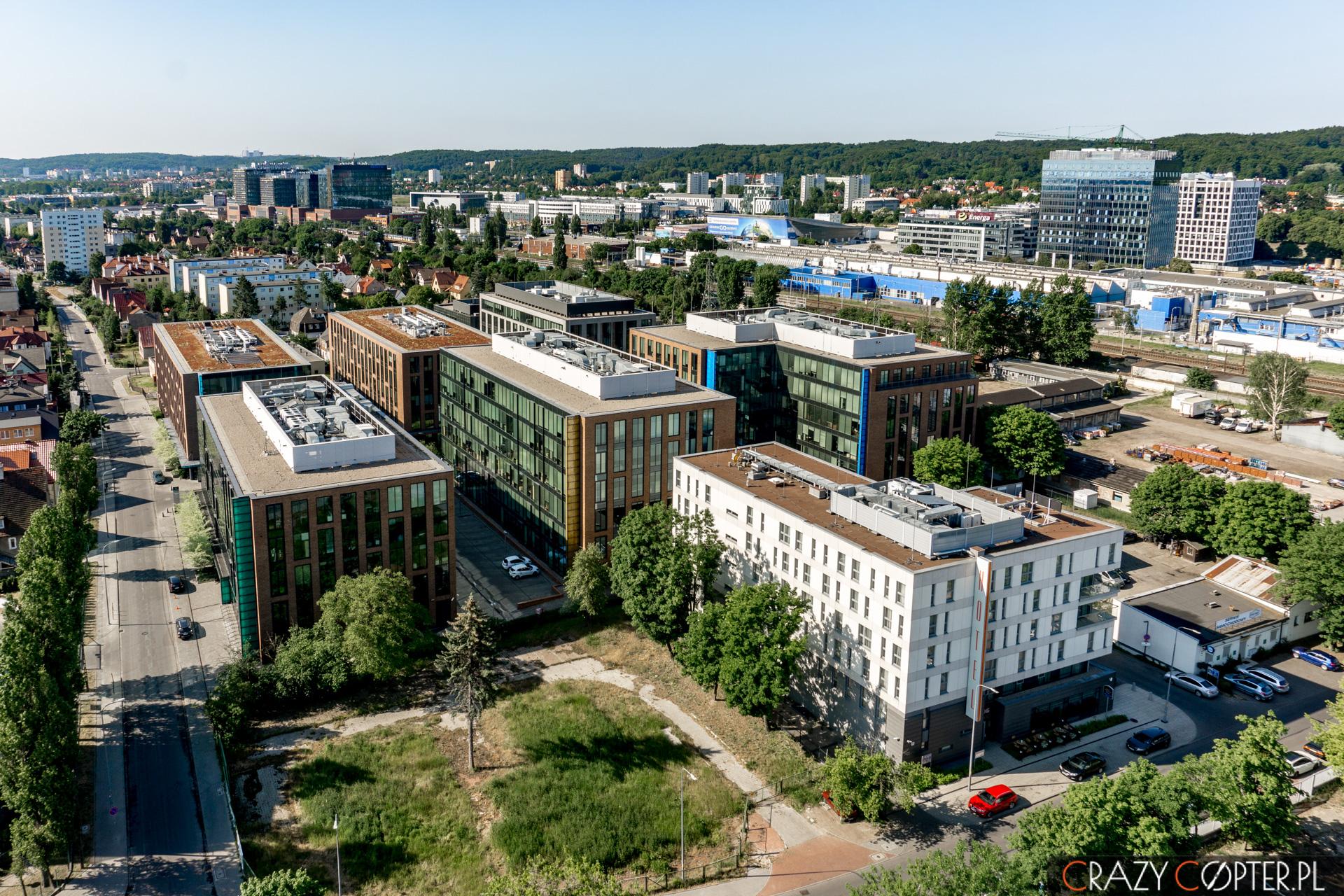 Filmowanie zdrona nieruchomości wGdańsku
