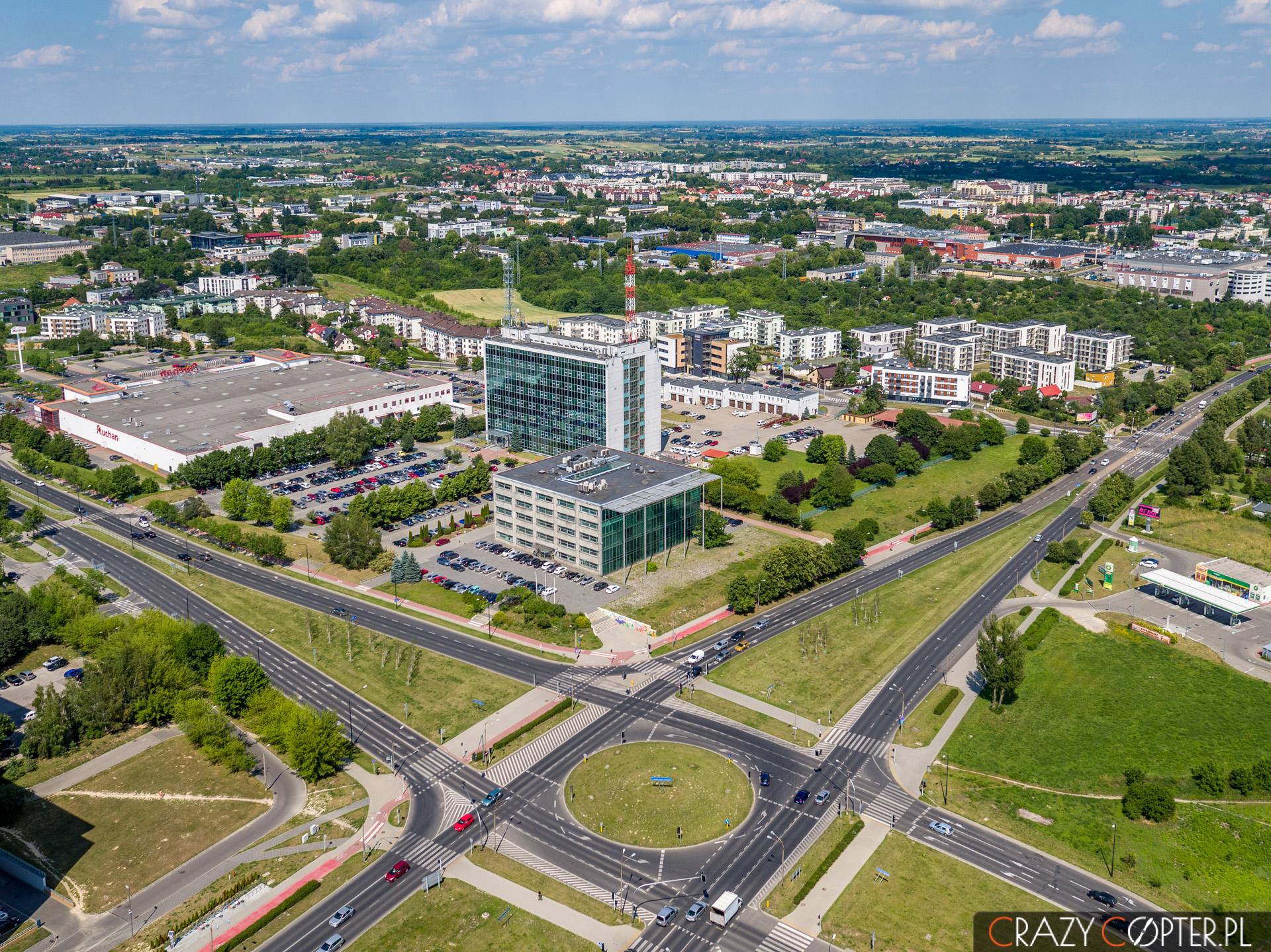 Nieruchomości oraz ważne ciągi komunikacyjne w Lublinie.