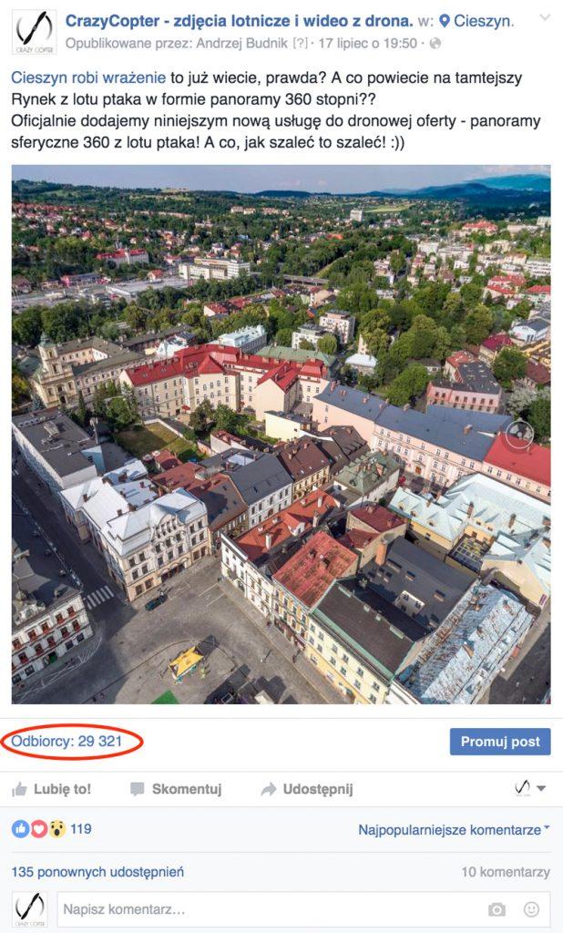 Panorama sferyczna z drona!!