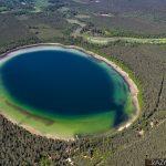 Zdjęcia z drona w Puszczy Augustowskiej - Jezioro Płaskie