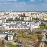 Galeria Mokotów - zdjęcia nieruchomości z drona w Warszawie