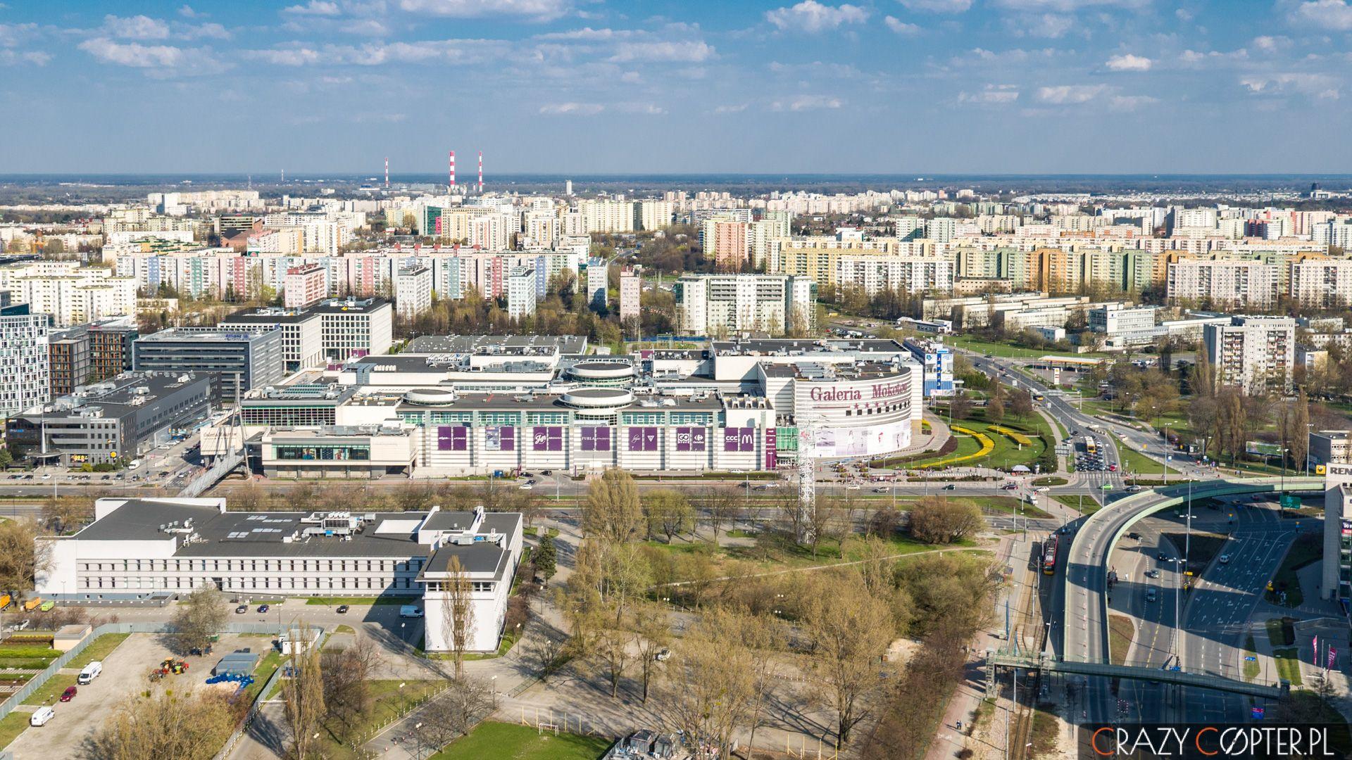 Galeria Mokotów - zdjęcia nieruchomości zdrona wWarszawie