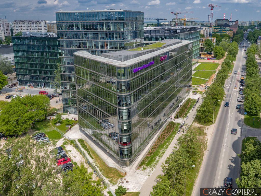 Ambassador Office Building na ul. Domaniewskiej - Mokotów, Warszwa