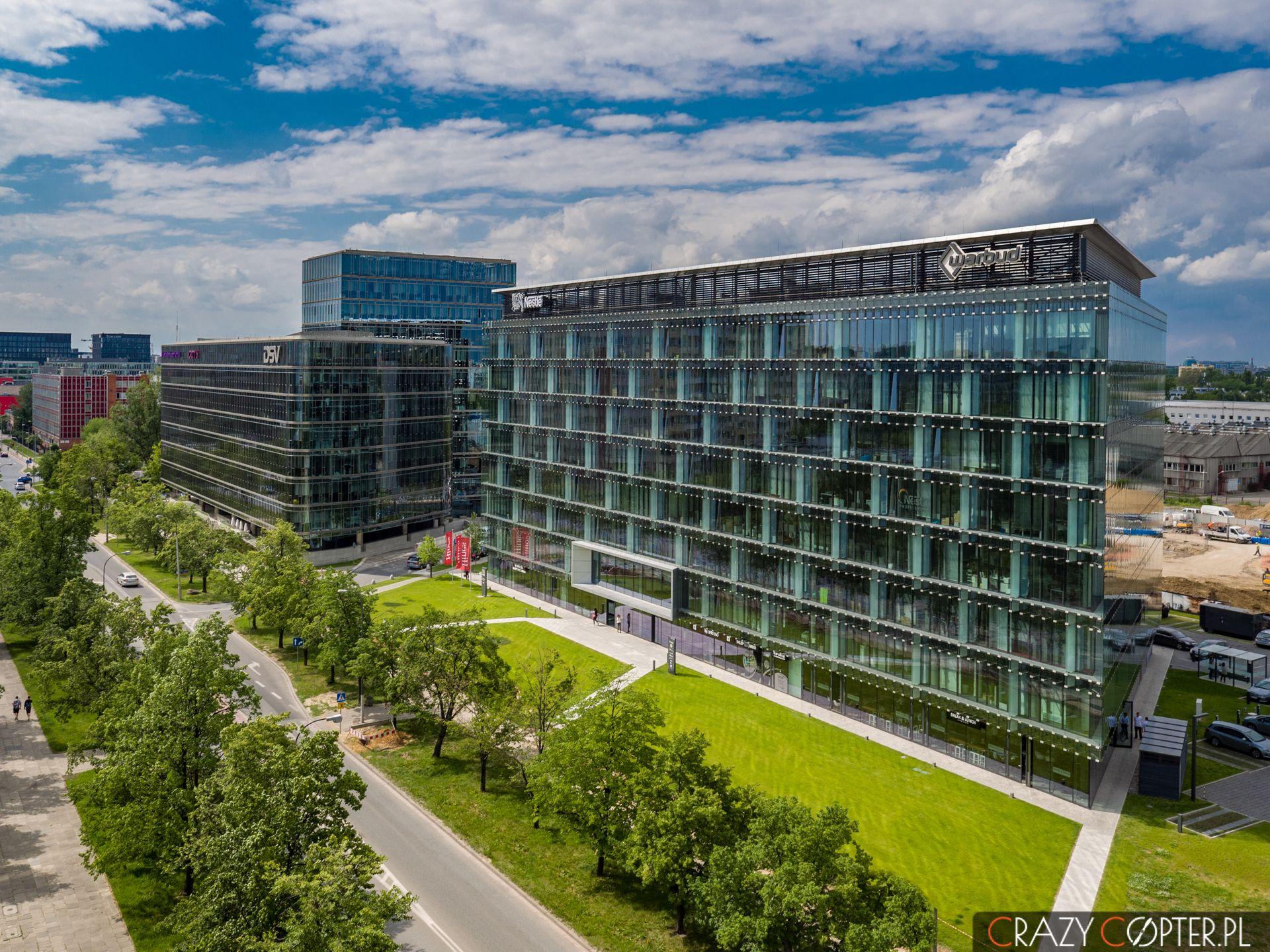 Nestle House iAmbassador Office Building naul.Domaniewskiej - Mokotów, Warszwa