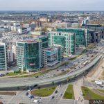 Mordor na Mokotowie - zdjęcia z drona Warszawy