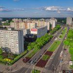 Ulica Kondratowicza nawarszawskim Bródnowie - zdjęcie zdrona Osiedla Gama - Targówek..