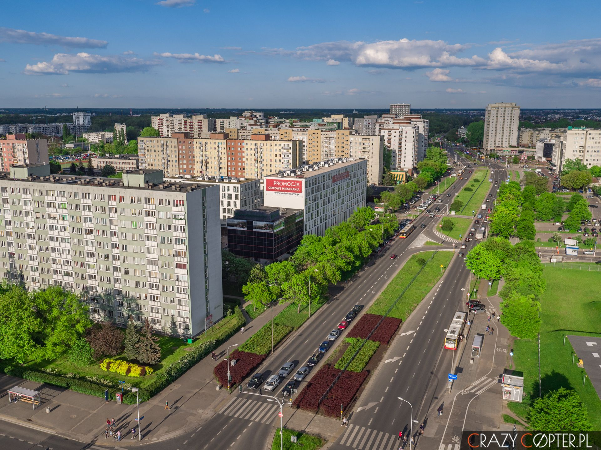 Fotografie zdrona wWarszawie - Targówek iBródnów