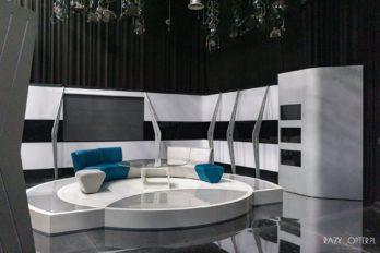 Studio telewizyjne – zdjęcia wnętrz